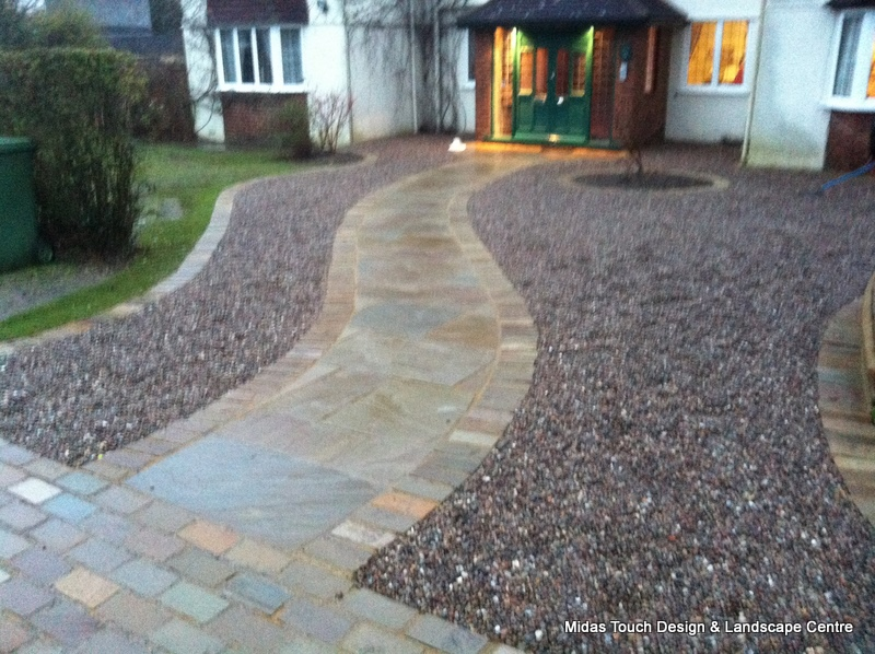 Awesome Decorative Stone U0026 Gravel Midas Touch Landscapes   Hertfordshire  Landscaping, Driveways, Patios And Paving Projects