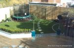 Garden planted out to provide all year colour and interest installed with maintenance plan