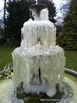 Winter water feature