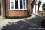 Topiary hedging installed