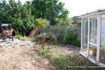 Before: This garden was over grown with a mass of old concrete installed